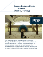 first mosque designed by a women