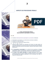 Aspecte de Procedura Penala