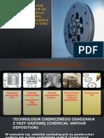 Projekt Technologii Wytwarzania Warstw Tic Metodą Cvd (Chemical Vapour Deposition) Stosowanych Na Narzędzia Do Przeróbki Plastycznej