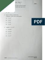 SPM Math 2014 Paper 1