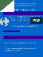 1ra Clase - Introducción al estudio de rios