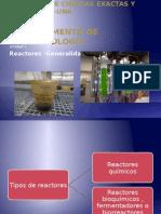 Unidad 1.Biorreactores. Generalidades