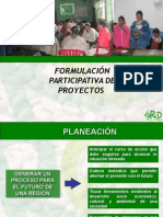 Presentación Formulación de Proyectos RCV