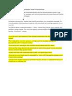 Uppsala Model vs Internationalization Model of New Ventures