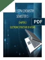 Chemistry Pre-u Chemistry Sem 1 Chap 2