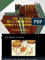 Los Metales en La Industria Del Mueble v 24 Feb