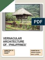 phillippines Vernacular Architecture