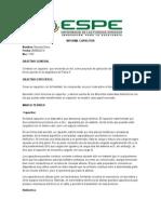 Informe Capacitor