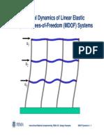 Rev Topic04 StructuralDynamicsofMDOFSystems