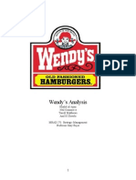 Wendys Analysis