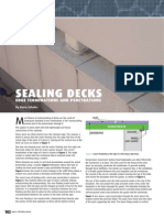 Sealing Deck Penetration
