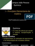 Aula 1 - Principios Elementares Da Quimica