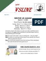 Newsline March 2015