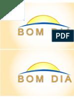 Ficha Bom Dia