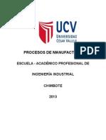 Silabus Procesos de Manufactura Ind