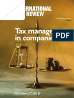 Pwc Tax Management in Companies