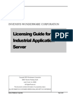 Licensing Industrial Application Server Rev D