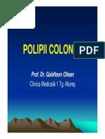 POLIPII COLONICI