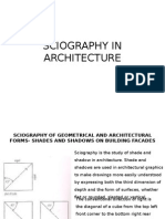 Sciography in Architecture