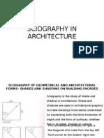 Sciography in Architecture