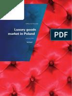 Luxury Goods Market in Poland 2013
