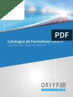 FR Brochure ORSYP Training Catalog 2014