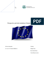 Perspective Privind Extinderea Uniunii Europene