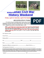 2015 Buchanan Civil War History Weekend Application1