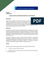 Confirmacion de INGRESO de Etica e Independencia Para Staff
