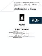 Astronautics QA Manual QM-IsO Rev O Covering New FAA Part 21 and Part 45