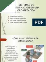 Dispositivas de Sistemas de Informacion en Las Organizaciones