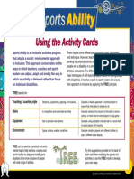Indigenous Sports Ability Activity Cards