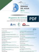 Campaña Semana del Agua Perú en la cuenca del río Ocoña