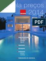 Catálogo TEXSA Preços 2014 -Maio