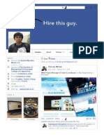 Facebook Resume Demo