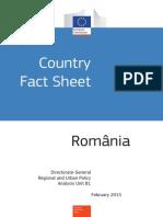 Country Fact Sheet Ro+En