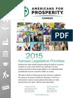 Kansas 2015 Legislative Agenda