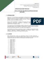 Especificaciones Técnicas - 14-03-2011