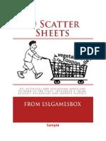 50 Scatter Sheets Sample