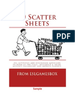 50 Scatter Sheets Sample