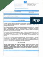 Proposición para solicitar una auditoría de las contrataciones derivadas del acuerdo marco de obras de reforma, reparación y conservación del conjunto de los edificios adscritos al distrito de Barajas