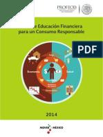 Guía de educación financiera para un consumo responsable.