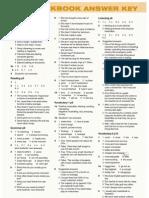 Workbook Answer Key 1r bachillerato