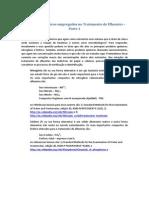Nutrientes e Estações de Tratamento de Efluente Parte 1
