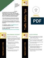 Traffic Safety Tips Safety Presentation
