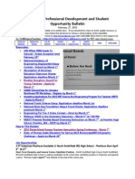 RI Science Professional Development and Student Opportunity Bulletin 2-27-2015