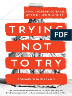 Trying Not to Try by Edward Slingerland - Excerpt