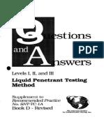 Levels I II III Questions Answers