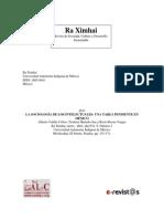 Valdés, Hurtado y Rosas - La Sociología de Los Intelectuales. Un Tema Pendiente en México