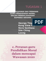 TUGASAN 1 Pendidikan Moral